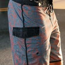 cargo pocket inset mesh lining scallop trim iphone keys stash seamless design eyelet velcro carry it