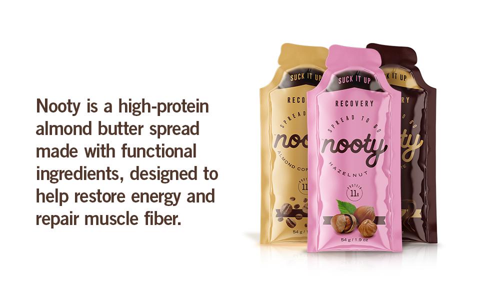 high protein almond butter repair muscle coffee hazelnut chocolate restore refuel