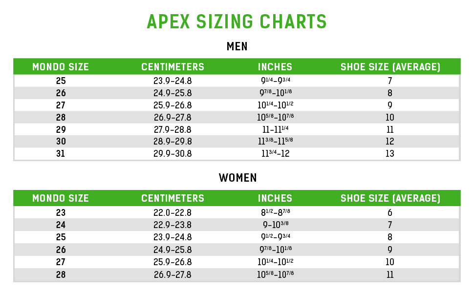 merrell size conversion chart 600