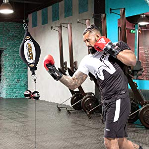 Double End Boxing Dodge Speed Ball Inflatable Floor to Ceiling Punching Bag