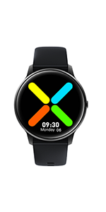 yamay smart watch for men women iphone android phones