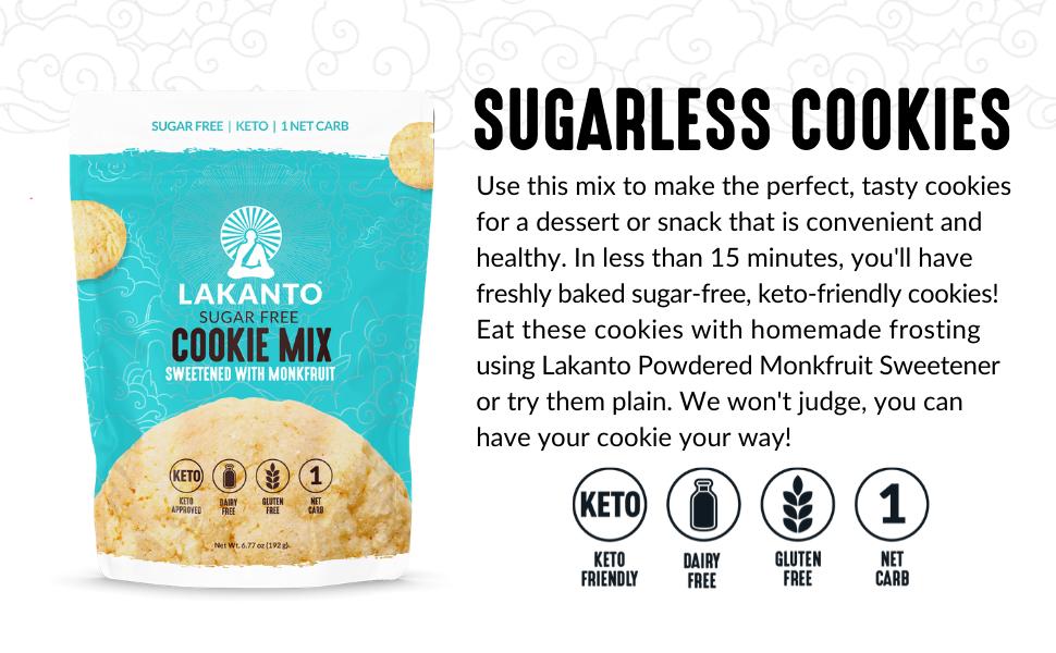 cookies, lakanto, sugar-free, gluten-free, dessert
