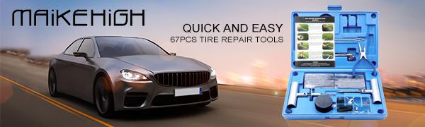 kit de réparation de pneus