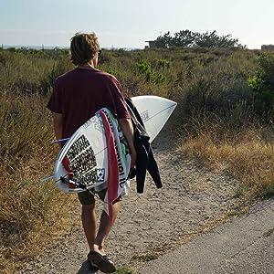 XM SURF MORE SURFBOARD LEASH REGULAR MADE IN USA CALIFORNIA