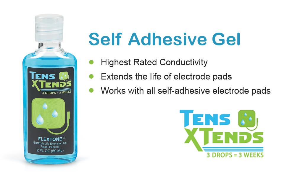 self adhesive gel