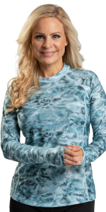 womens long sleeve rashie rash guard thumbholes camouflage women swimshirts surfing swimming tops