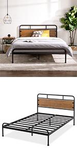 SFBF-BR Bed Frame Queen