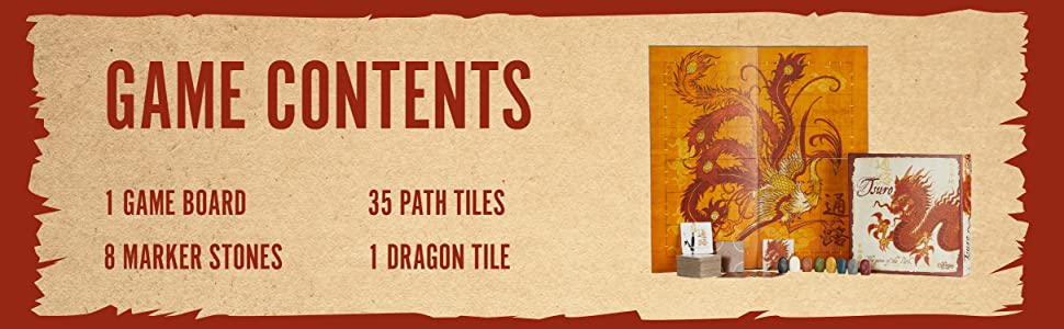 Tsuro Game Contents