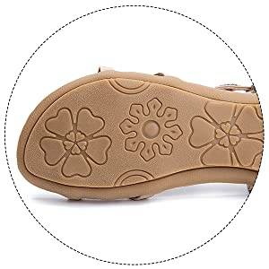 beach sexy flats comfortable shoes rubber sole sandals non slip outdoor shoes beauty slip on shoes