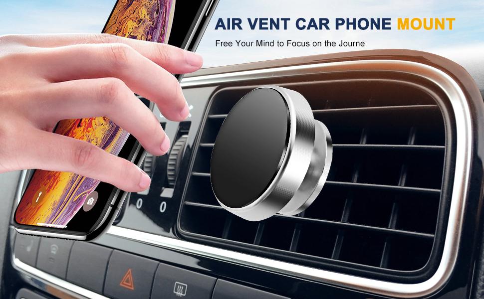 Magnetic Car Air Vent Phone Mount
