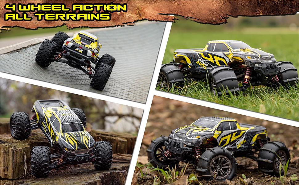4 wheel action - all terrain