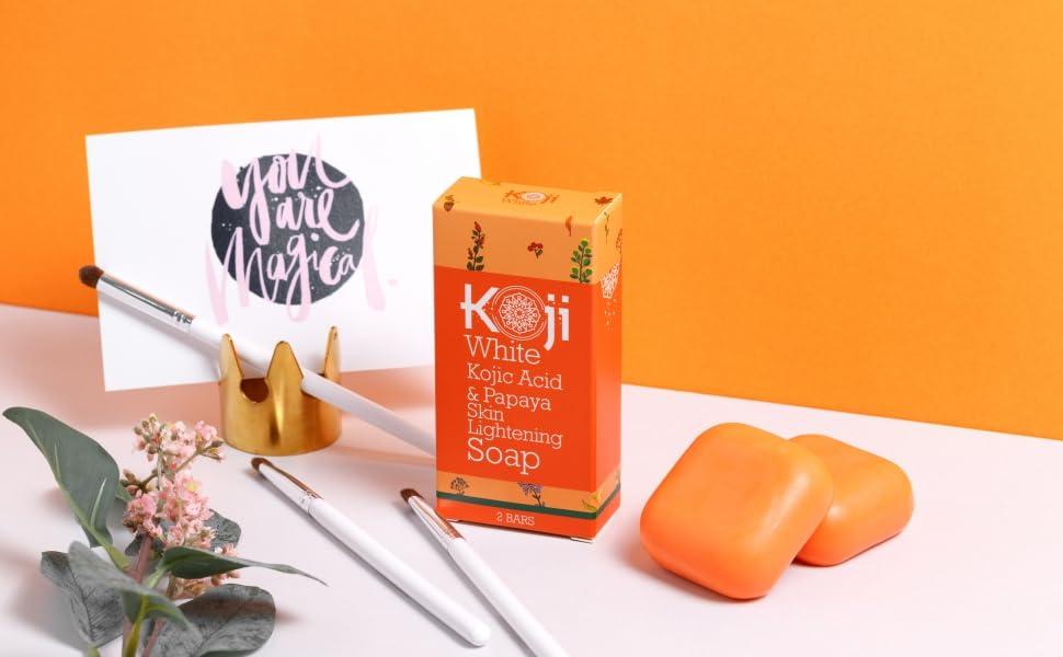 Koji White Papaya Whitening Soap