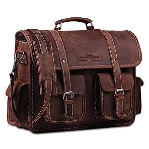 leather briefcase for men women leather satchel leather messenger bag leather shoulder crossbody bag