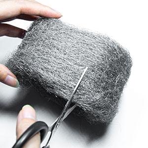 steel wool stainless