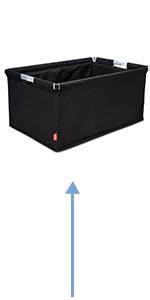 Kühleinsatz Kühlkorb Kühltasche mit Einkaufskorb Kühleinsatz für AD120A Isolationstasche Mittagessen