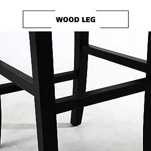 the wood leg