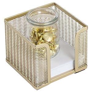 Gold Sticky-note Holder
