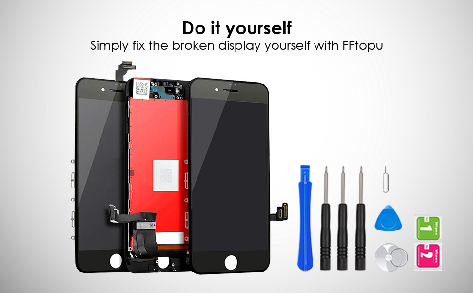 iphone 5s/6/6s/7/8/plus screen replacement