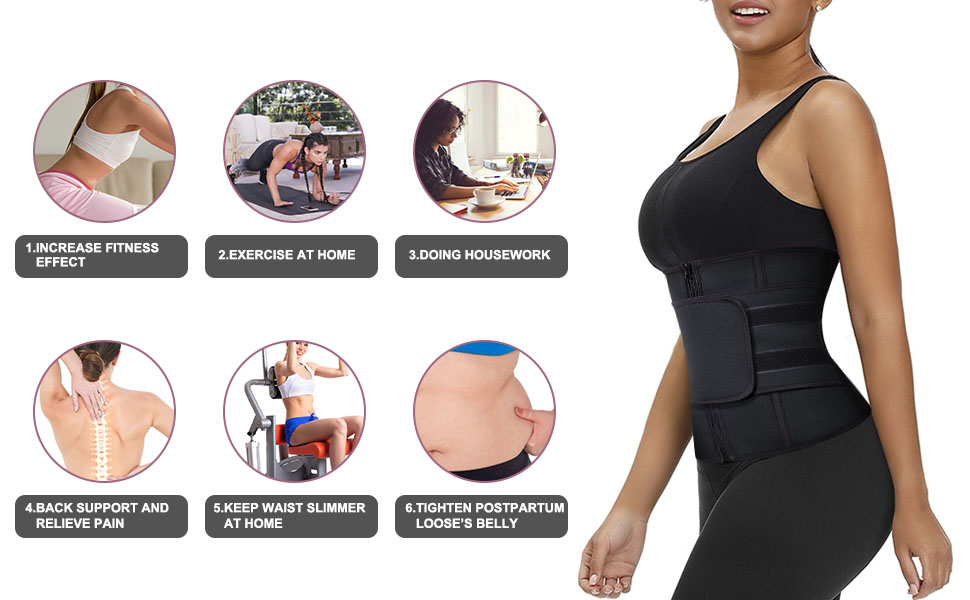 slimming waist belly band