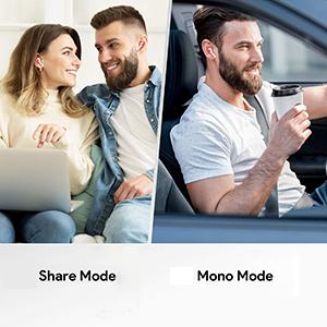 share mode