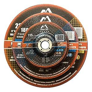 Merryland Cut off Cutting Grinding Wheel Disc Steel INOX Stainless Steel Metal