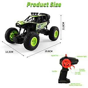 Arkmiido Remote Control Car for kids,4x4 RC Crawler Car Toy for 6-12 years old Kids,1:20 4WD Off-Road Truck for Boys Girls.