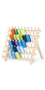 60 Spools Thread Rack