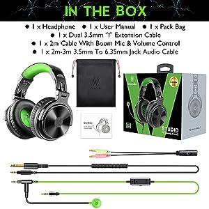 Over Ear Gaming Headphones mit Kabel