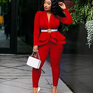 red outfits for women