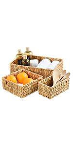 wicker baskets for organizing