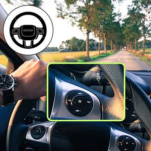 Convenient & Safe Steering Wheel Control
