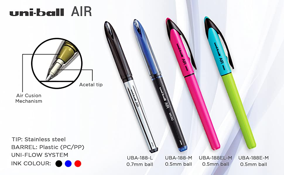 types of pen
