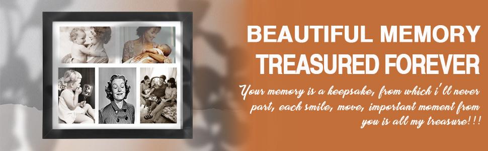 Beautiful memory treasured forever Your memory is a keepsake memorial keepsake frame for loved mom
