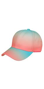 Gradient baseball cap