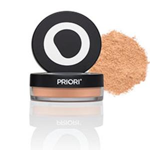 Priori Minerals Packaging spf 25 sunscreen makeup for women men powders antiaging makeup anti age