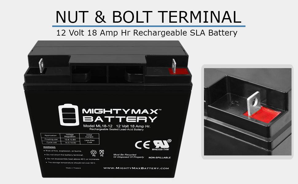 replacement SLA Battery for Generac 7500 EXL Portable Generator rechargable battery