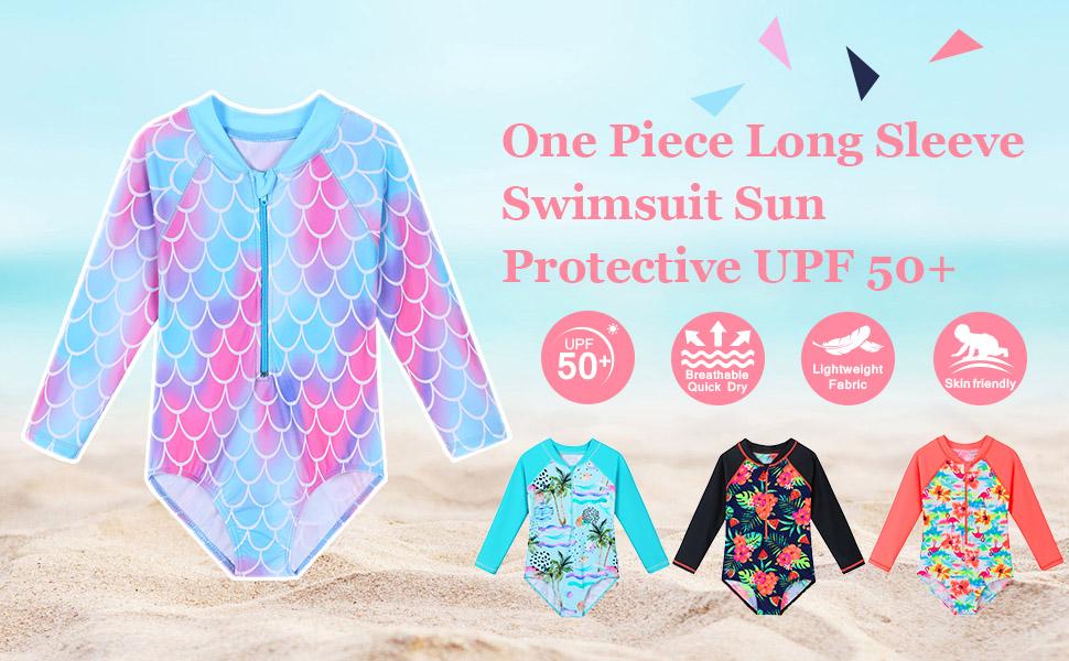 girls swimsuit one piece size 4 5 6 7 8 9