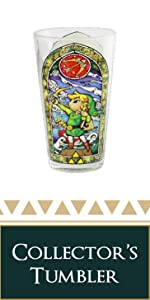 link collector's edition tumbler glass