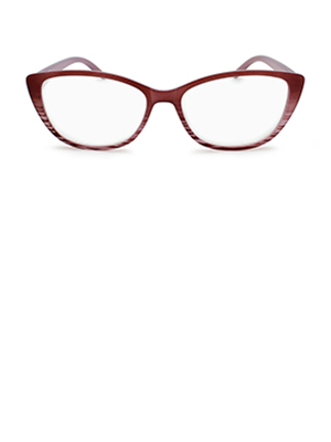 cat eye reading glasses for women pink ombre color