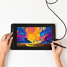 drawing tablet with screen,graphics monitor, Intuos, Cintiq,animation, display,art,drawing monitor