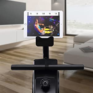 Rowing Machine with Monitor