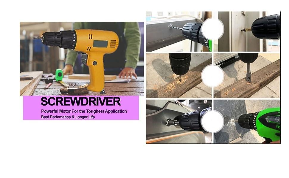 electric screwdriver reverse forward and torque