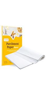 12x16,9x13 White Parchment paper