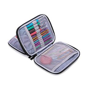 crochet set case accessories organizer