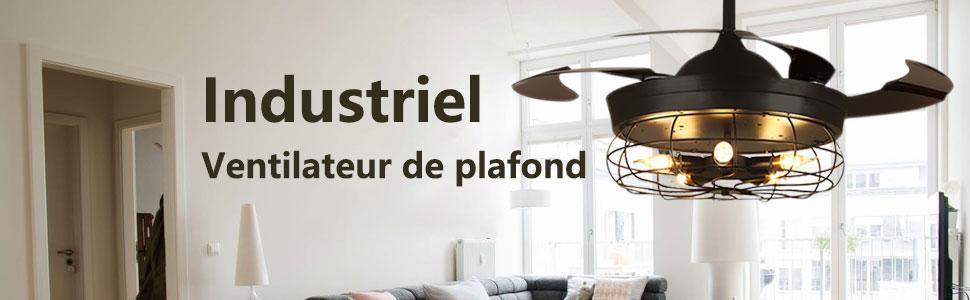 industiel ventilateur de plafond