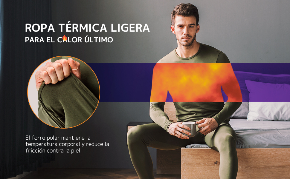ropa termica ligera