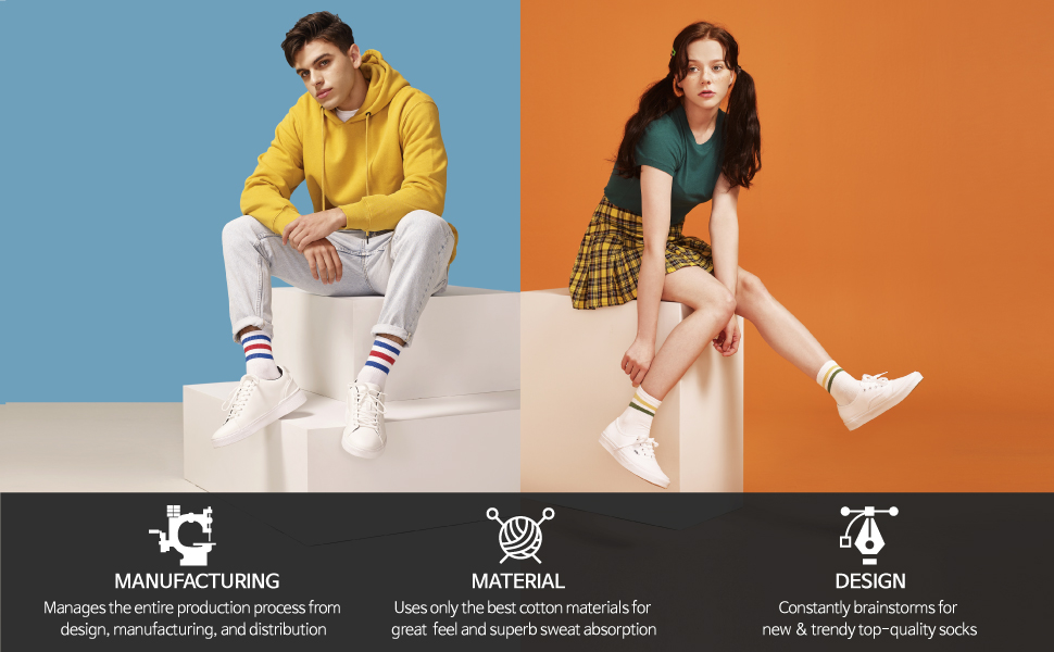 manufacturing, material, design by kikiya socks