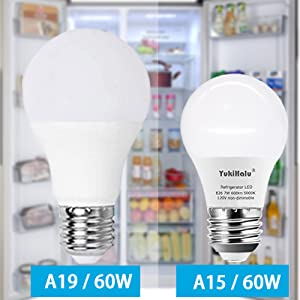 compact size A15 shape  size as 40w, brighter as 60w