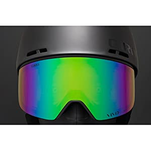 helmet and goggle