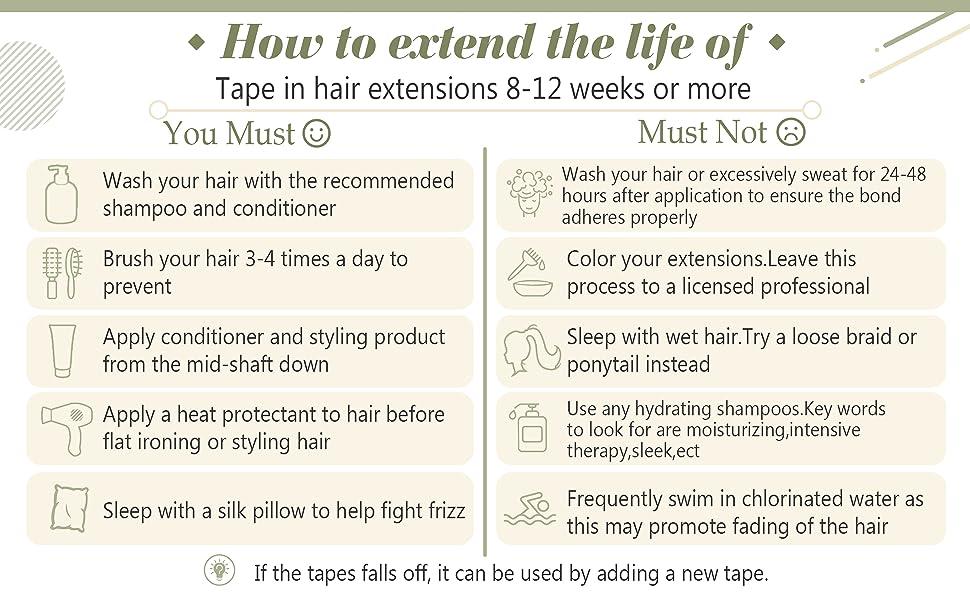 Tape in Hair Extensions Dark Brown Highlights Caramel Blonde